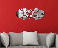 3D Espejo Acrílico BRICOLAJE Pared Hogar Adhesivo Mural Decoración Vinilo Mural