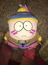 """10"""" South Park Indian Cheif Cartman Plush Doll With Tags 1998"""