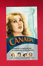 2006 CANADIANS IN HOLLYWOOD  CANADA STAMPS  BOOKLET  2154b  BK327  L950