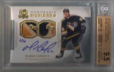 13/14 The Cup Mario Lemieux Honorable Numbers 3 Clr Patch Auto BGS 9.5 10 #/6
