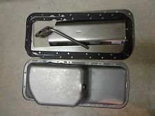 70-74 Mopar B E Body Cuda 440 Six Pack 6 Quart Oil Pan W/Pickup, Gaskets,Tray