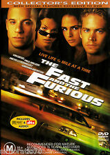 The Fast and the Furious DVD R4 Collector's Edition