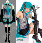 Hot Sale!Vocaloid Miku Hatsune Cosplay Costume 10PCS Full Set
