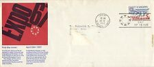 CANADA FDC 1967 # 469 EXPO 67 IN MONTREAL - ENGLISH SCHERING CACHET