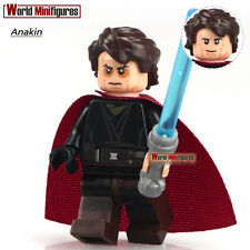 STAR WARS Anakin Skywalker with LightSaber Rogue One Minifigures Toys Gifts