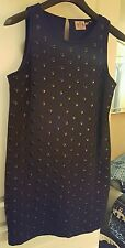 JUICY COUTURE Black Studded Dress, Size M