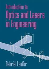 Introduction to Optics and Lasers in Engineering, Laufer, Gabriel, Good Book