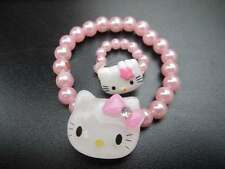 Hello Kitty KT bracelet bangle + ring Perfect Christmas birthday Girls gift