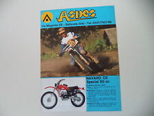 advertising Pubblicità 1976 MOTO ASPES NAVAHO CS SPECIAL 50