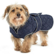 Ancol Navy Quilted Dog Coat 50cm