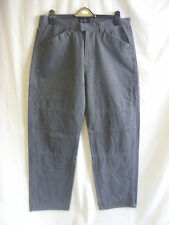 """Mens Jeans - GUESS, 34""""W, 33.5""""L, grey, like combat, casual, faded edges 7015"""