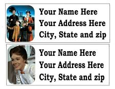 30 MARY POPPINS OR OTHER DISNEY RETURN ADDRESS LABELS