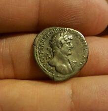 Ancient Roman Coin Emperor Hadrian AR Denarius 118-122 AD; RIC 141