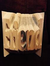 Friend Folded Book Art Folding PATTERN ONLY #062