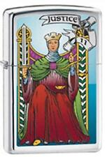 Zippo 28138 tarot card justice RARE & DISCONTINUED Lighter
