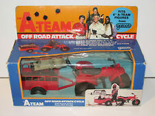 "A-TEAM 6"" VEHICLE OFF ROAD ATTACK 100% COMPLETE MIB 1980s GALOOB VERY RARE"