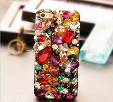 "Multicolor Crystal diamond 3D Bling Case cover for iPhone 6 plus 5.5"" NEW  C3A2"