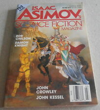 ISAAC ASIMOV SCIENCE FICTION MAGAZINE N°3..Ed US..DAMON KNIGHT.JOHN CROWLEY