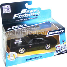 JADA 97214 FAST AND FURIOUS 7 DOM'S 1970 70 DODGE CHARGER R/T 1/32 MATTE BLACK