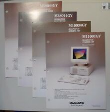Magnavox System 110 160 380 580SX Personal Computer Flyers XT AT 386SX