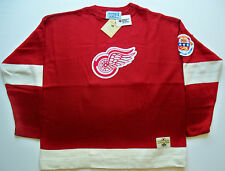Stall & Dean Replica Hockey Sweater - 1950-51 Detroit Red Wings - NWT 3XL
