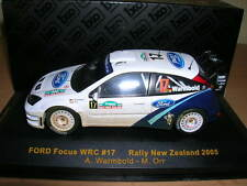 Ixo Ford Focus WRC Rally New Zealand 2005 A. Warmbold - M. Orr 1:43, #17 Rallye