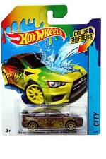 2015 Hot Wheels Color Shifters City #08 2008 Mitsubishi Lancer Evolution