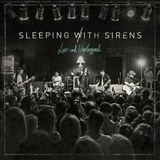 SLEEPING WITH SIRENS LIVE AND UNPLUGGED CD - NEW RELEASE APRIL 2016