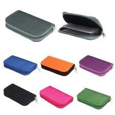 Memory Card Storage Wallet Case Borsa Con cerniera Astuccio Supporto SD Micro 22