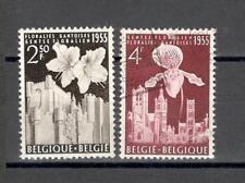 R6834 - BELGIO 1955 - LOTTO FIORI E CASTELLI - VEDI FOTO