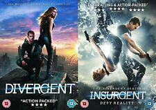 Divergent/Insurgent Kate Winslet, Shailene Woodley NEW AND SEALED UK R2 DVD