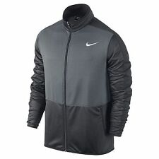 Nike Men's Basketball Jacket Lightweight Fabric Color Gray/Dark Gray Size Medium
