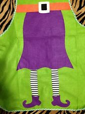 Santa Helper-ELF COSTUME APRON-Holiday Party Favor Christmas Kitchen Decoration