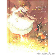 Alice in Wonderland Illustration Hard Covered Korean Book Korea Text Book BL09