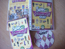 THE SIMS 2 GLAMOUR LIFE STUFF Add-On Pack di Espansione Apple MAC DVD