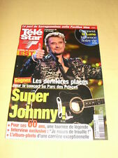 JOHNNY HALLYDAY Télé Star N°1392 juin 2003
