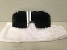 ESS NVG PROFILE Replacement SMOKE LENS US MILITARY BALLISTIC GOGGLES ARMY VGC