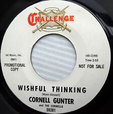 CORNELL GUNTER wishful thinking 45 b/w if I had the key to your heart 1965 e7205