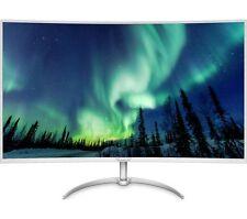 """PHILIPS bdm4037uw 40"""" 4k ULTRA HD CURVO LED Monitor Nuovo Sigillato UK"""