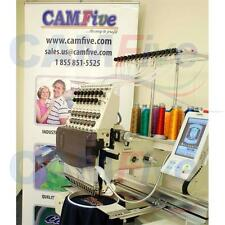 CAMFive CFSE-DM1501 Embroidery Machine large embroidery area 15 color cap & flat