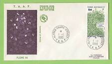 French Antarctic Territory 1990 Plants Issue First Day Cover