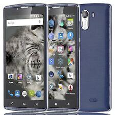 "Blue Smartphone unlocked 5""Inch QHD 2 Dual SIM cell android phone XGODY X14"