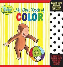 Curious Baby My First Book of Color Curious George Accordion-Fold Board Book