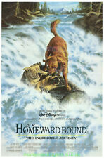 HOMEWARD BOUND : THE INCREDIBLE JOURNEY MOVIE POSTER Original Mini-Sheet 18x27