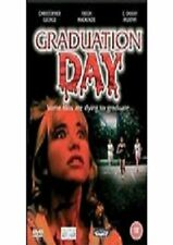 GRADUATION DAY DVD Ruth Ann Llorens Patch New and Sealed Original UK Release R2