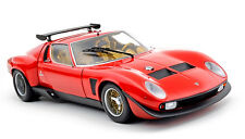 1975 LAMBORGHINI MIURA SVR JOTA RED 1:18 KYOSHO NEW IN BOX NOTE: MISSING ANTENNA