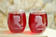 Custom Star Wars Stemless Wine Glass