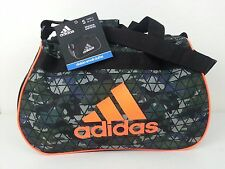 NWT Adidas Diablo Small Duffel Bag Crusher Night Gym Travel Carry On Expandable