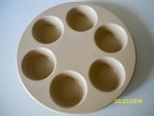 ANCHOR HOCKING MUFFIN CUPCAKE PAN OVEN 400 DEGREES or MICROWAVE USA Made