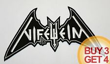 NIFELHEIM WT BACK PATCH,BUY3GET4,DESASTER,AURA NOIR,DESTRO​YER 666,SODOM,BATHORY